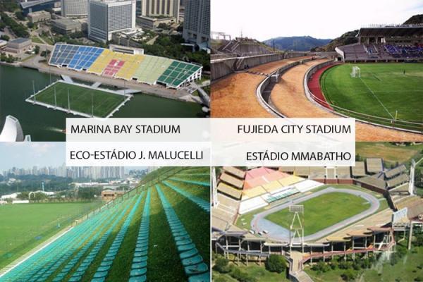 Curiosidades sobre assentos esportivos de estádios pelo mundo