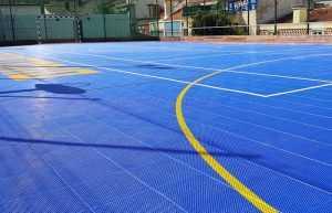 Pisos Modulares para Quadras Esportivas