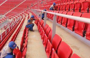 Conheça os tipos de assentos para estádios